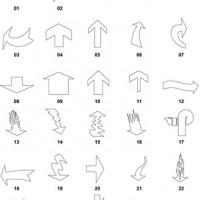 DXF Arrow Designs