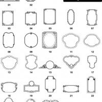 DXF Border & Frame Designs 2