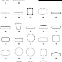 DXF Border & Frame Designs 8