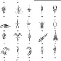 DXF Border Pieces & Ornament Designs 9
