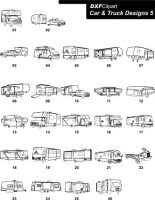 DXF Car & Truck Designs 5
