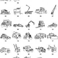 DXF Car & Truck Designs 6