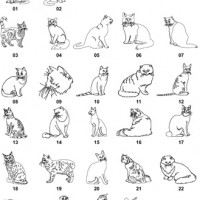 DXF Cat & Dog Designs 1
