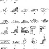DXF Corner & Bracket Designs-10