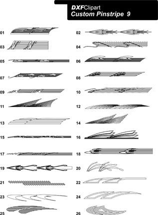 DXF Custom Pinstripe 9