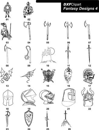 DXF Fantasy Designs 4