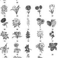DXF Floral Designs 5