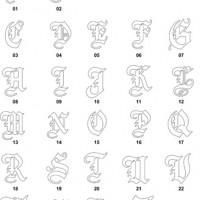 DXF Font Designs-17