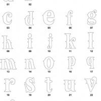 DXF Font Designs-20