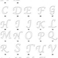 DXF Font Designs 3