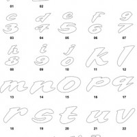 DXF Font Designs 8