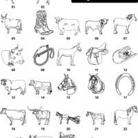 DXF Horses & Farm Animal Designs 3