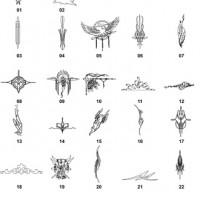 DXF Native American Designs 1