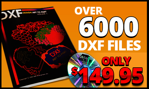 DXF Clipart Complete Collection