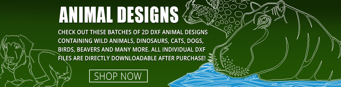 Animal Design DXF Clipart