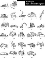 DXF Car & Truck Designs 6