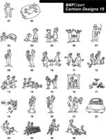 DXF Cartoon Designs-15