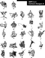DXF Cartoon Designs 8