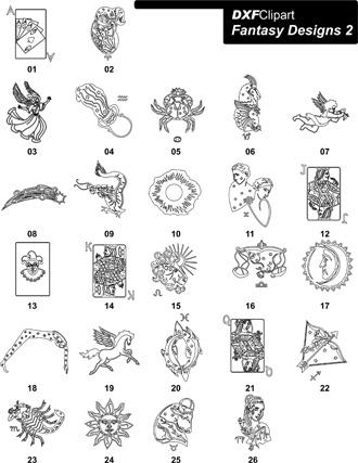 DXF Fantasy Designs 2