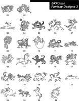 DXF Fantasy Designs 3
