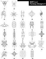 DXF Fantasy Designs 5