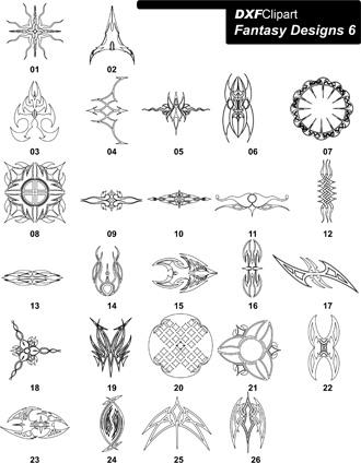 DXF Fantasy Designs 6