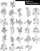 DXF Fantasy Designs 7