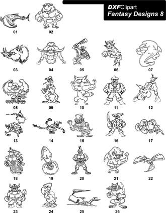 DXF Fantasy Designs 8