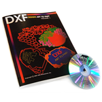 DXFClipart Book And CD – Printed Version (ONLY IN US)