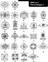DXF Floral Designs 1