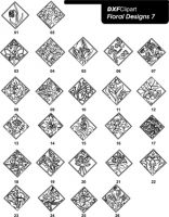 DXF Floral Designs 7