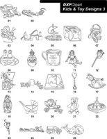 DXF Kids & Toy Designs 3