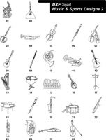 DXF Music & Sports Designs 2