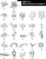 DXF Native American Designs 4